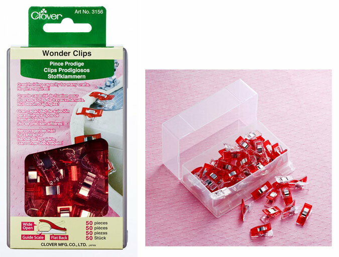 Wonder Clips Red - 50 count