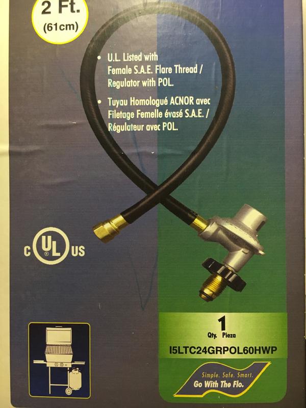Gas Grill & Regulator replacement kit