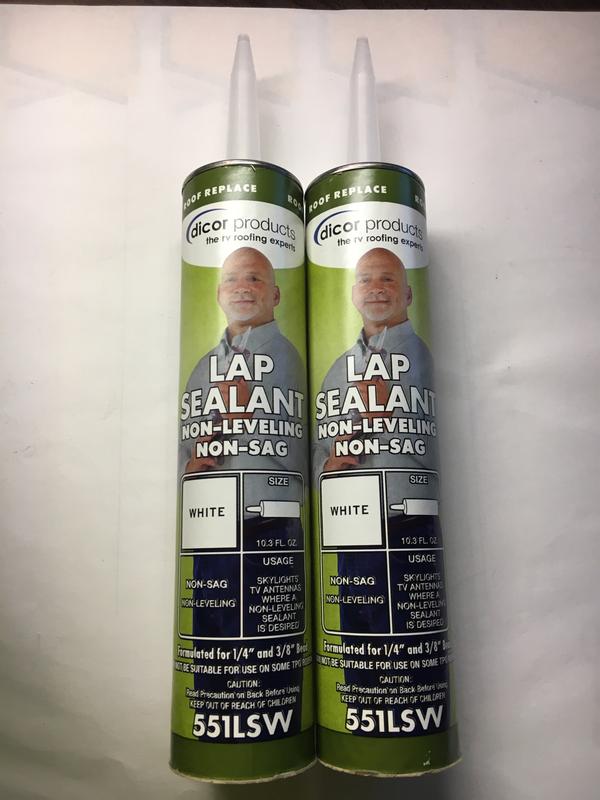 Dicor LAP Sealant - Non leveling - White