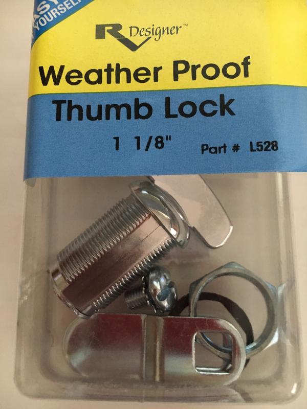 1-1/8 Thumb Lock