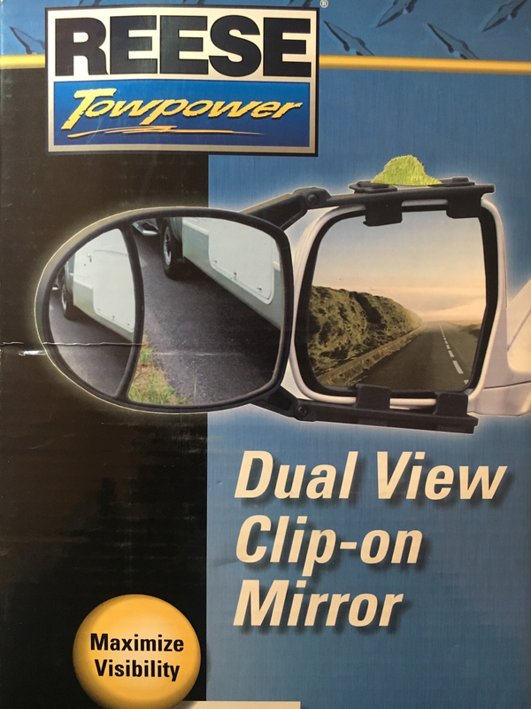 Dual View Clip on mirror