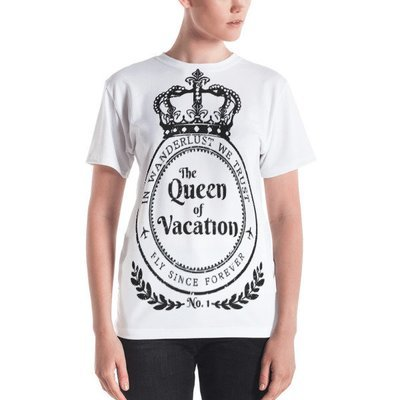 The Queen of Vacation T-shirt