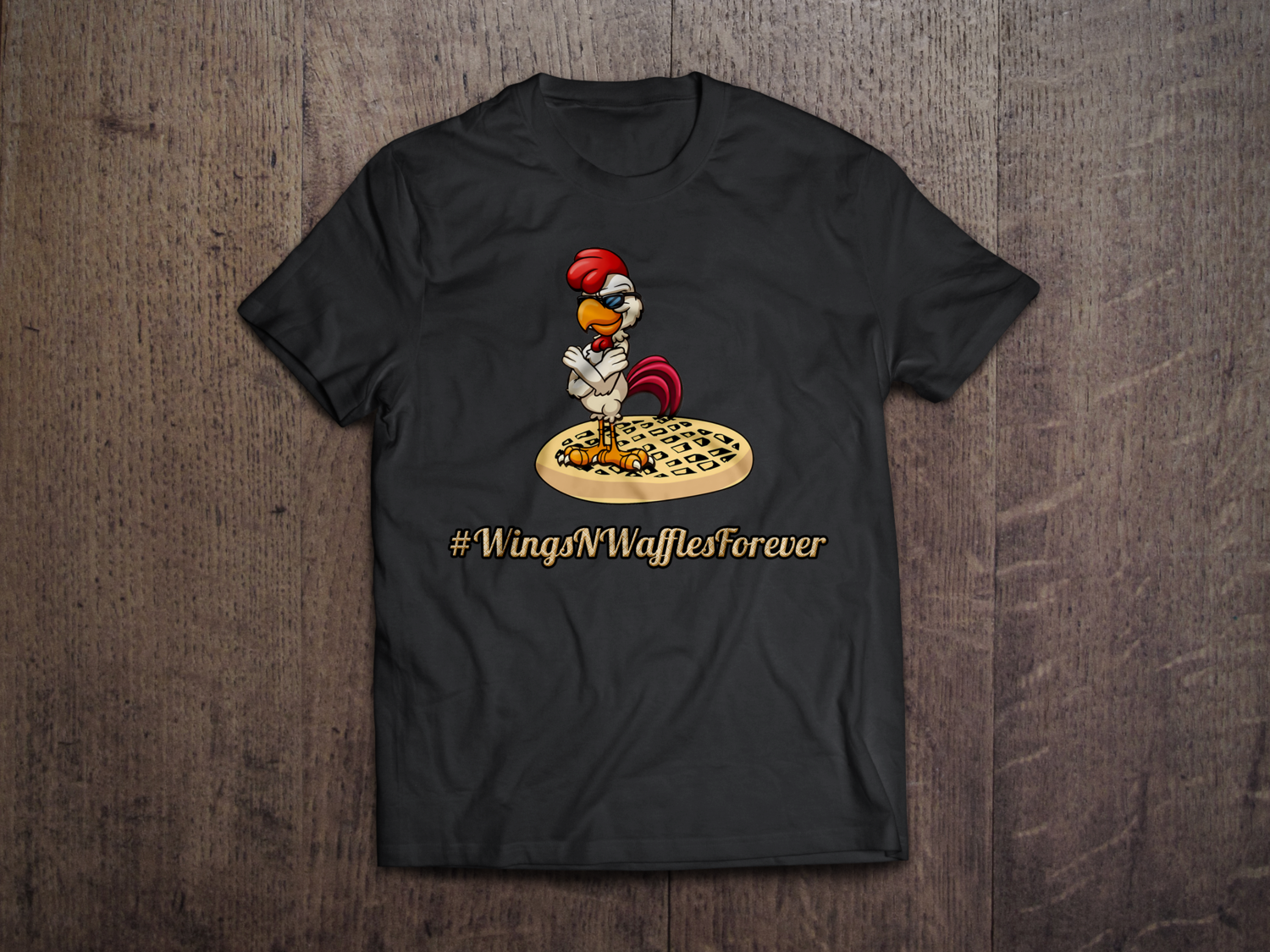 Wings N' Waffles Forever T-Shirt