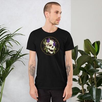 Mushroom and Crystal Skull Tee