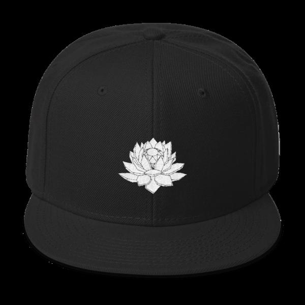 Crystal Lotus Snapback