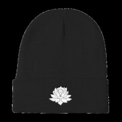 Crystal Lotus Beanie