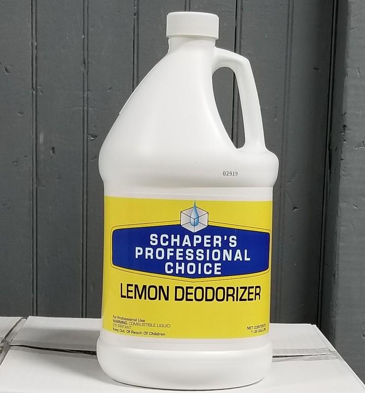 Schaper's Professional Choice Lemon Deodorizer