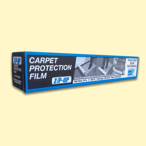 "Carpet Protection Film by ZipUp  |  48"" x 500'"