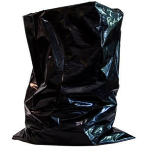 "38"" x 58"" Heavy-Duty BLACK Trash Bags (100ct.)"