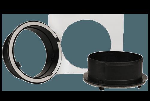 "Santa Fe Supply Duct Kit, 10"" Collar (2 ct.)"