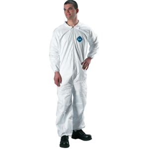 DuPont Tyvek Protective Coverall, Case of 25 (Select Size)