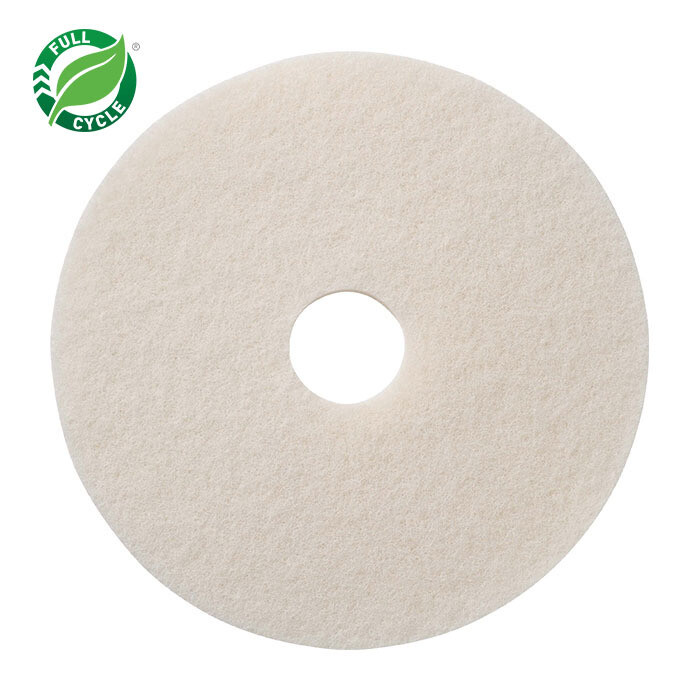 "Americo White Super Polish Floor Pad (17"")"
