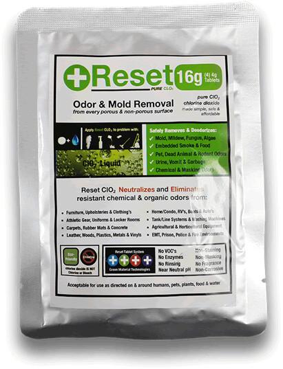 Reset Chlorine Dioxide (CLO2), 16g