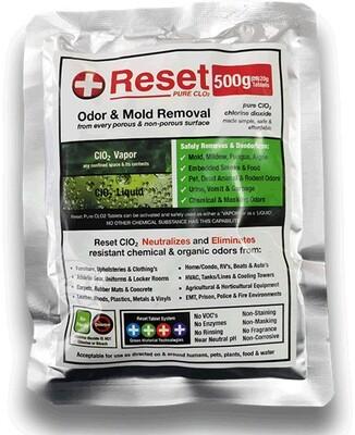 Reset Chlorine Dioxide Black Pak (500g.)