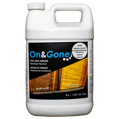 On & Gone Fast Mold Stain Remover (Gal.)