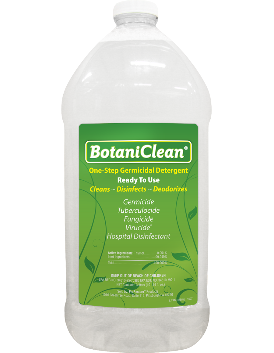 ProRestore Botaniclean, 3 Liters (Case of 4)