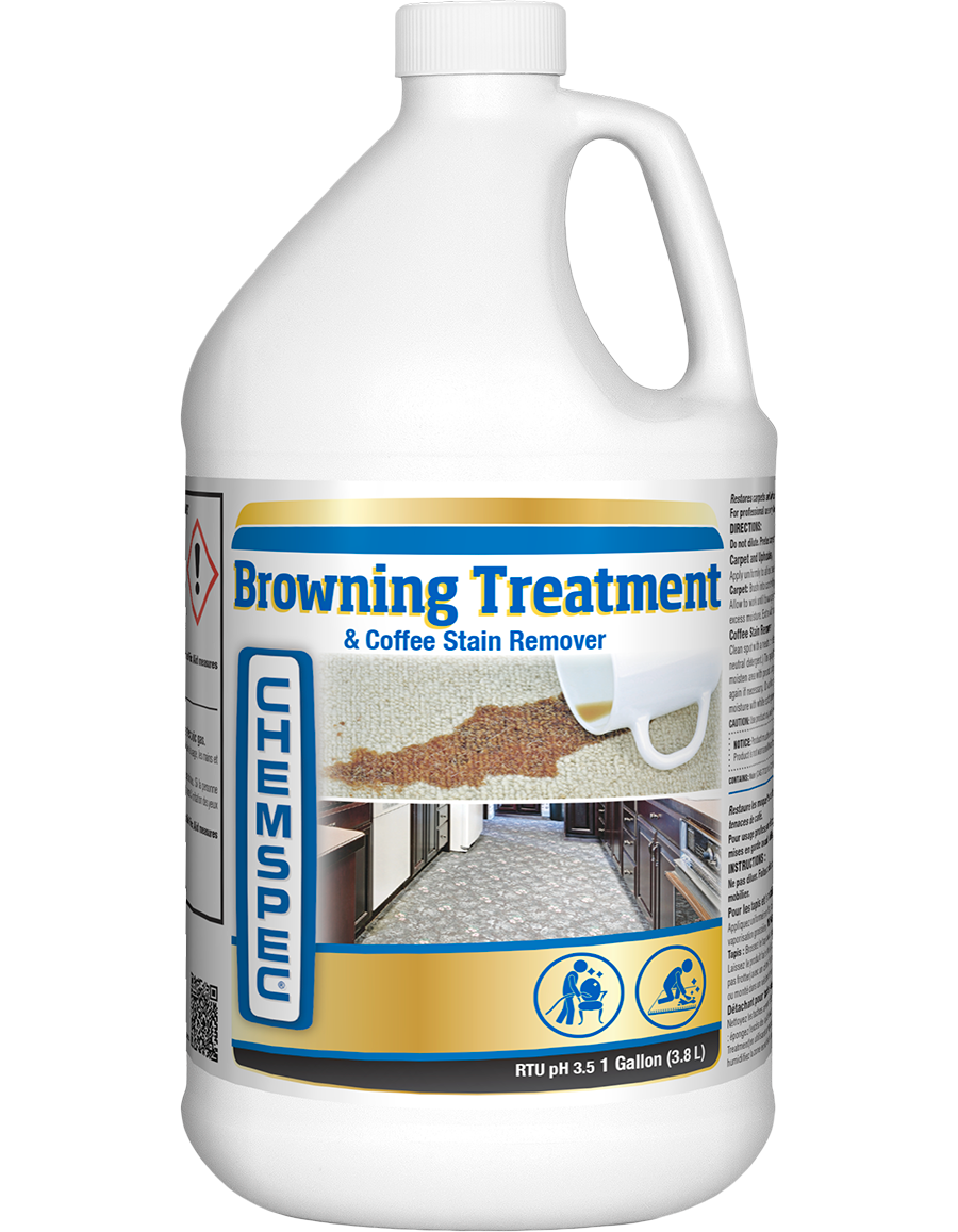 Chemspec Browning Treatment and Coffee Stain Remover (Gal.)