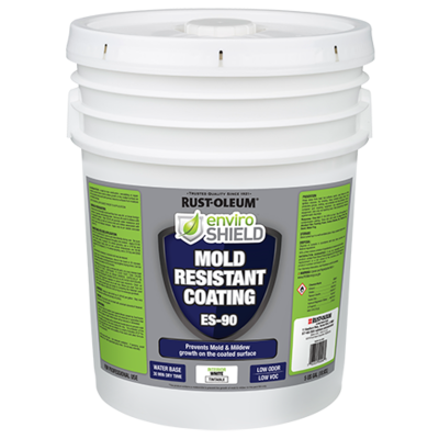 Enviroshield Mold Resistant Coating, Wht (5 gal.)