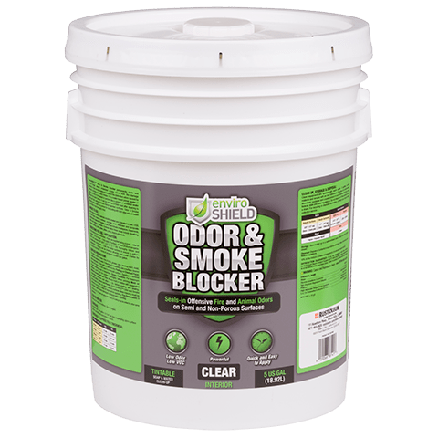 Enviroshield Odor and Smoke Blocker, Clr (5 gal.)
