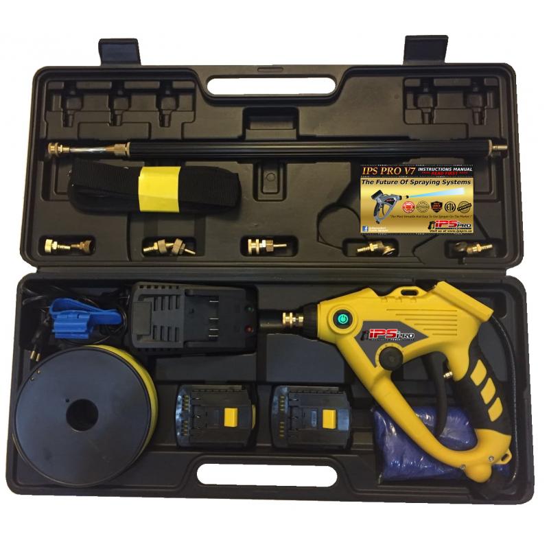 IPS Pro V8 Battery Operated Sprayer Kit