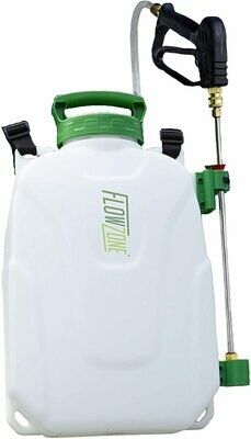 FlowZone Storm 2 PRO Lithium-Ion Battery Powered 2.5-Gallon Backpack Sprayer (Dual-Pressure)