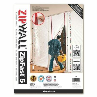 Zipwall ZipFast 5' Panel