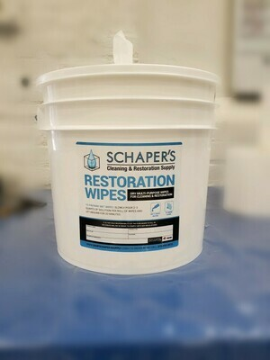 Schaper's XL Disinfectant Wipes Kit