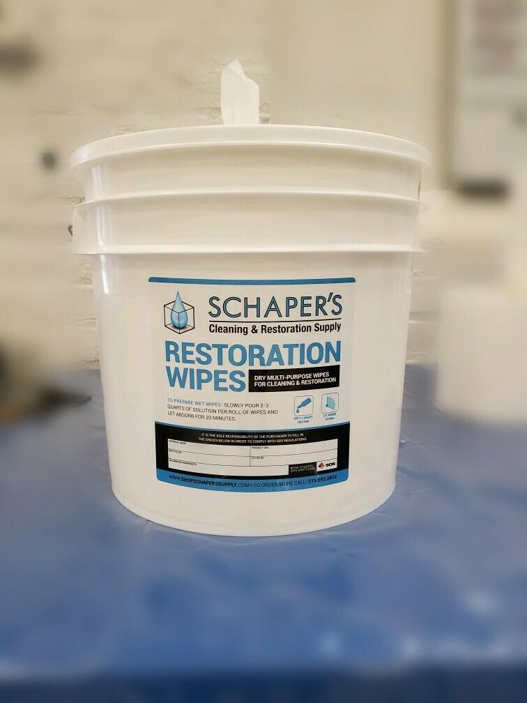 Schaper's XL Disinfectant Wipes Master Kit