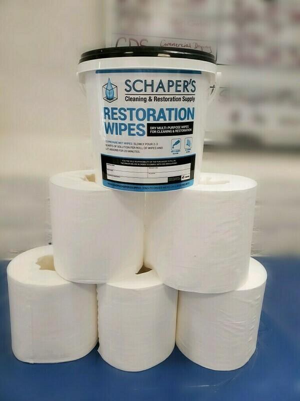 Schaper's Disinfectant Wipes Master Kit