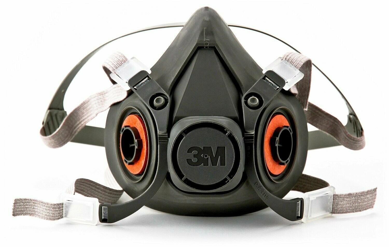 3M Half Face Respirator - Large