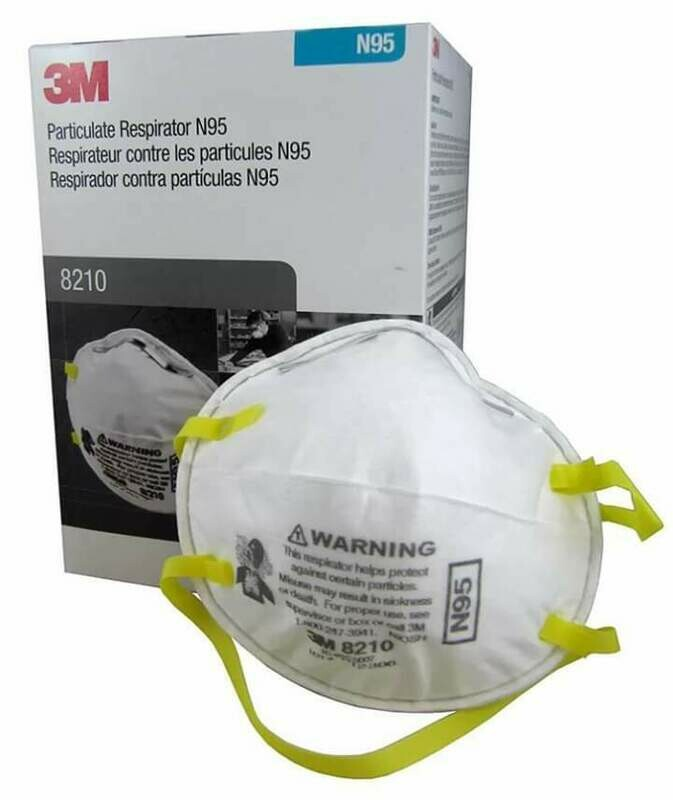 3M N95 Particulate Respirator (20 pack)