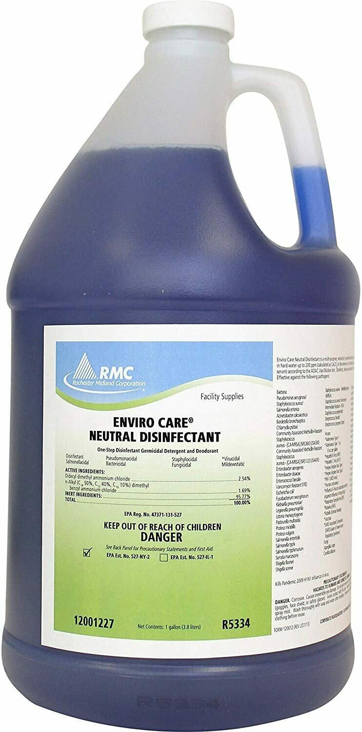 RMC Enviro Care Neutral Disinfectant (Gal.)
