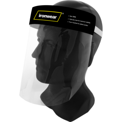 Ironwear Clear Disposable Face Shield