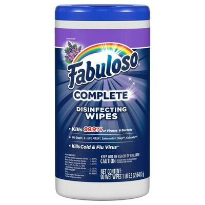 Fabuloso Wipes, Lavender (4 pack)