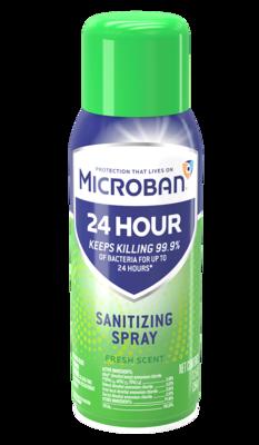 Microban 24 Hour Sanitizing Spray (Case of 6)