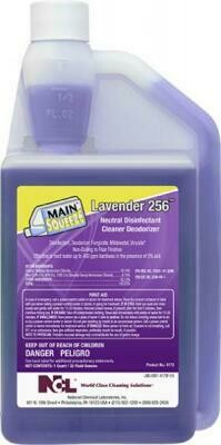 Main Squeeze Lavender 256 Disinfectant Cleaner (32oz)