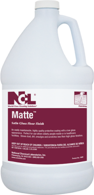 Matte Satin Gloss Floor Finish (Gal.)