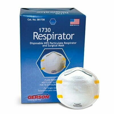 Gerson N95 Particulate Respirator (20 pack)