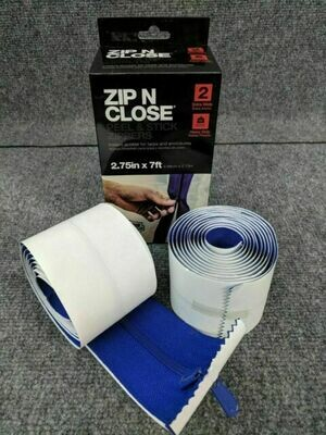 Zip N Close Heavy-Duty Zipper (2 pack)