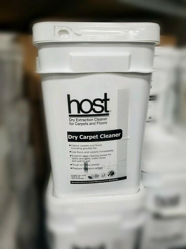 Host Dry Carpet Cleaner (30lbs)