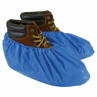 ShuBee Waterproof Shoe Covers, Light Blue (40 pair)