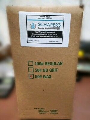 Schaper's Pro Sweeping Compound (50lbs)