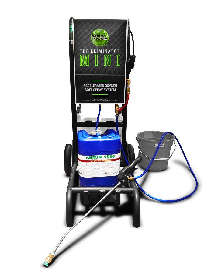 Serum MINI Eliminator Soft Wash System