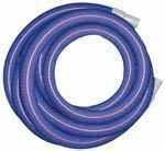 """Super TM High Heat Vac Hose 2"""" x 50' w/cuffs - Blue"""