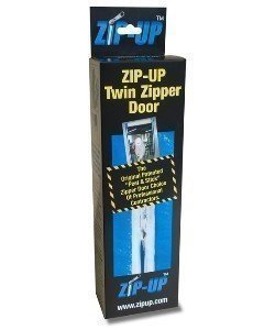 Zip-Up Original Self Adhesive Containment Zipper   2-Pack