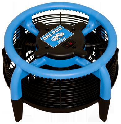 Dri-eaz Dri-Pod Miniature 360 Degree Airmover