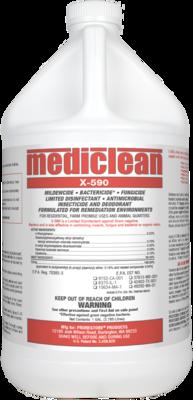 Mediclean X-590 Institutional Spray (Gal.)