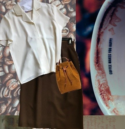 Cup Of Joe Pencil Skirt
