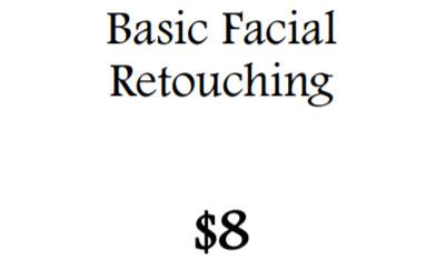 Basic Facial Retouching
