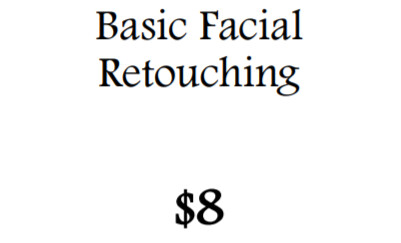 Basic Facial Retouching